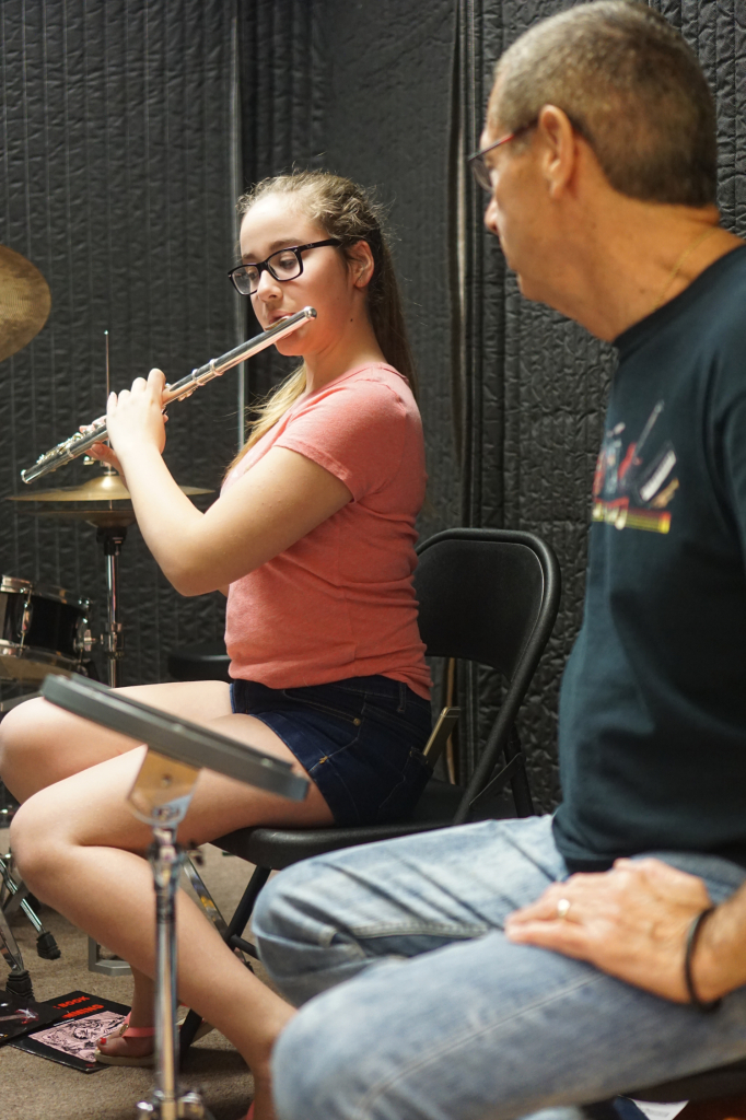 wind instrument lessons at Inna's Hall of Fame in Cooper City