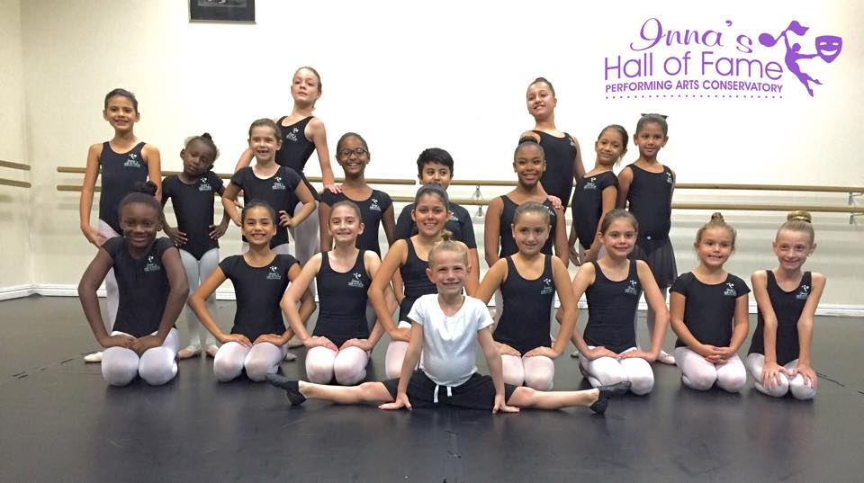 Dance Class Group Picture