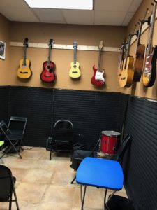 Strings practice room