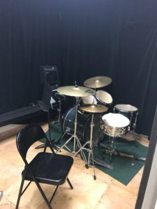 Drums practice room